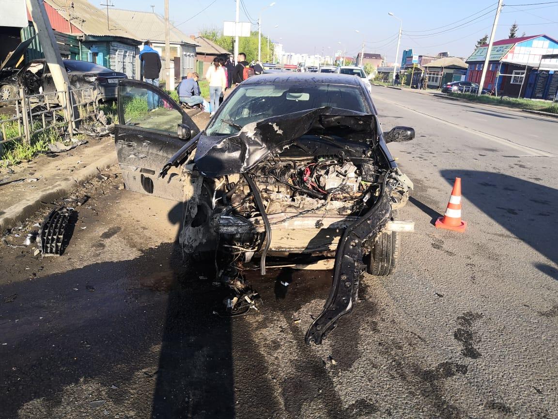 В Омске из-за пьяного водителя иномарки погибла женщина #Омск #Общество #Сегодня