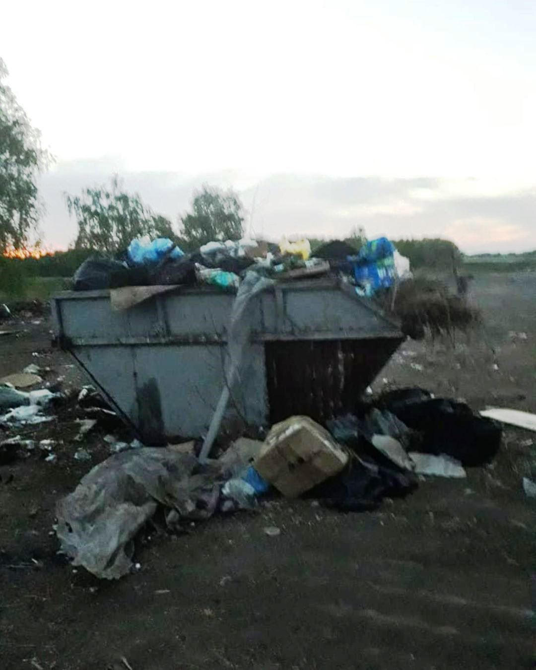 «Магнит» решил убрать свалку, сильно возмутившую Полежаева #Новости #Общество #Омск