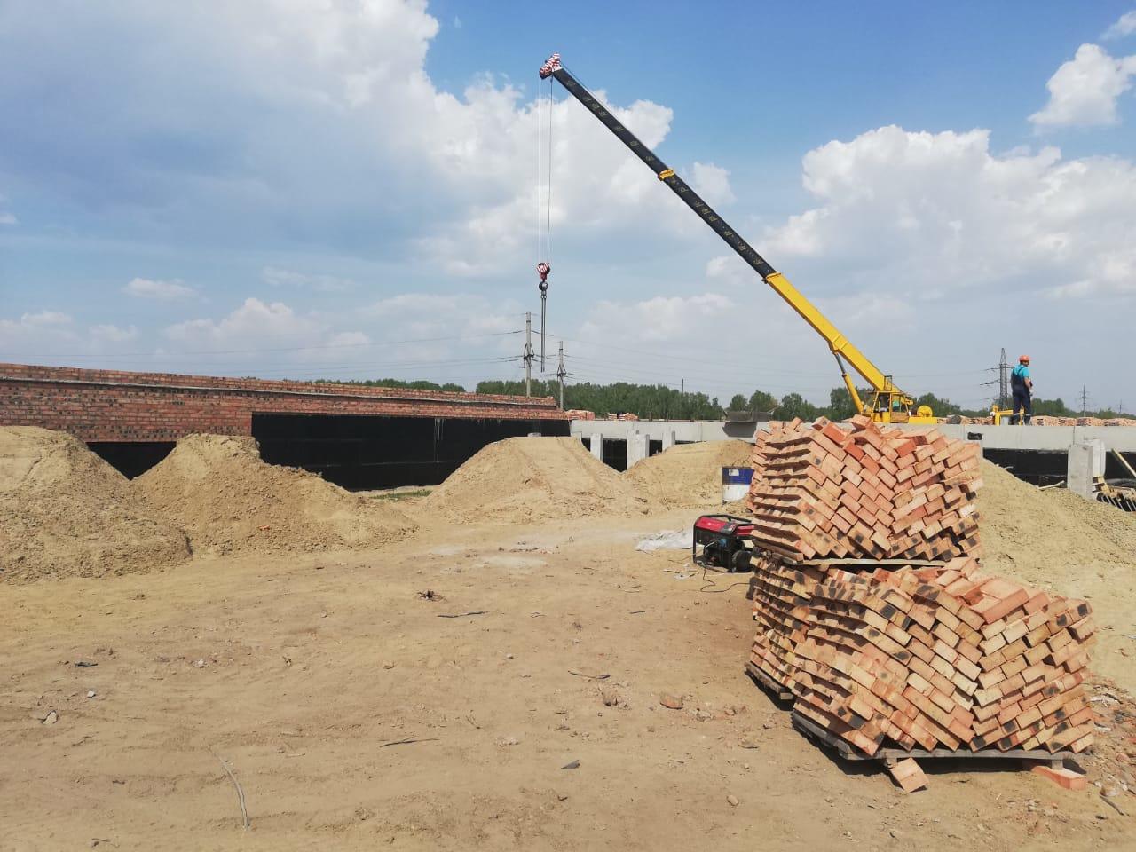 На окраине Омска строят сразу два садика #Новости #Общество #Омск