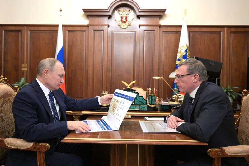 Бурков заявил, что не волновался перед встречей с Путиным #Омск #Общество #Сегодня