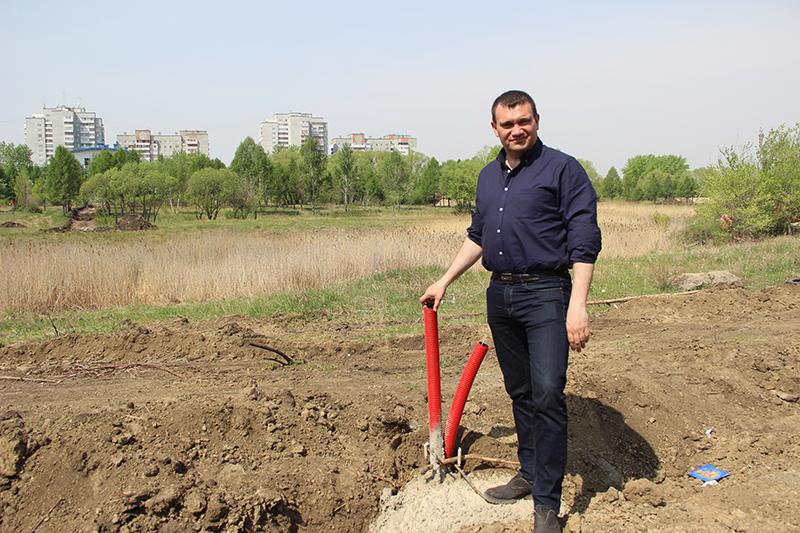 Подрядчику благоустройства бульвара Веретено высказали замечания #Омск #Общество #Сегодня
