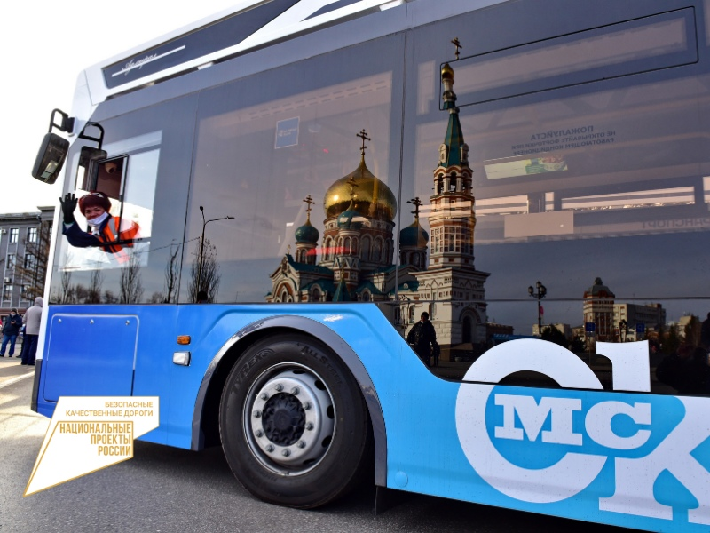 У администрации Омска «обстреляли» новый троллейбус «Адмирал» #Новости #Общество #Омск