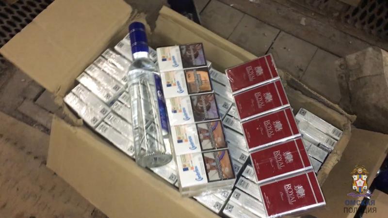 Омич закупился водкой и сигаретами на 4 миллиона, но «погорел» #Новости #Общество #Омск