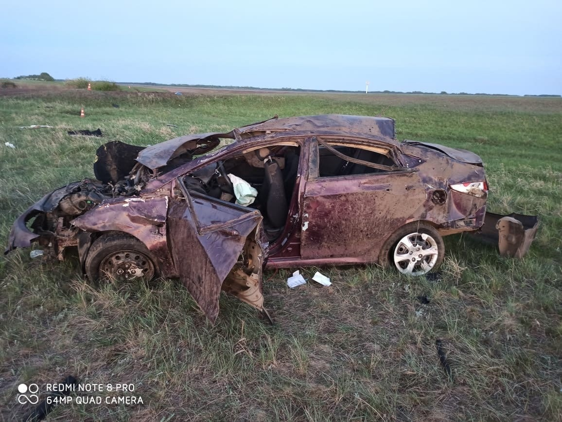 В Омской области в ДТП погиб пьяный водитель иномарки #Омск #Общество #Сегодня