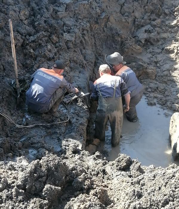 В Омской области ликвидировали серьезную аварию на групповом водопроводе #Омск #Общество #Сегодня