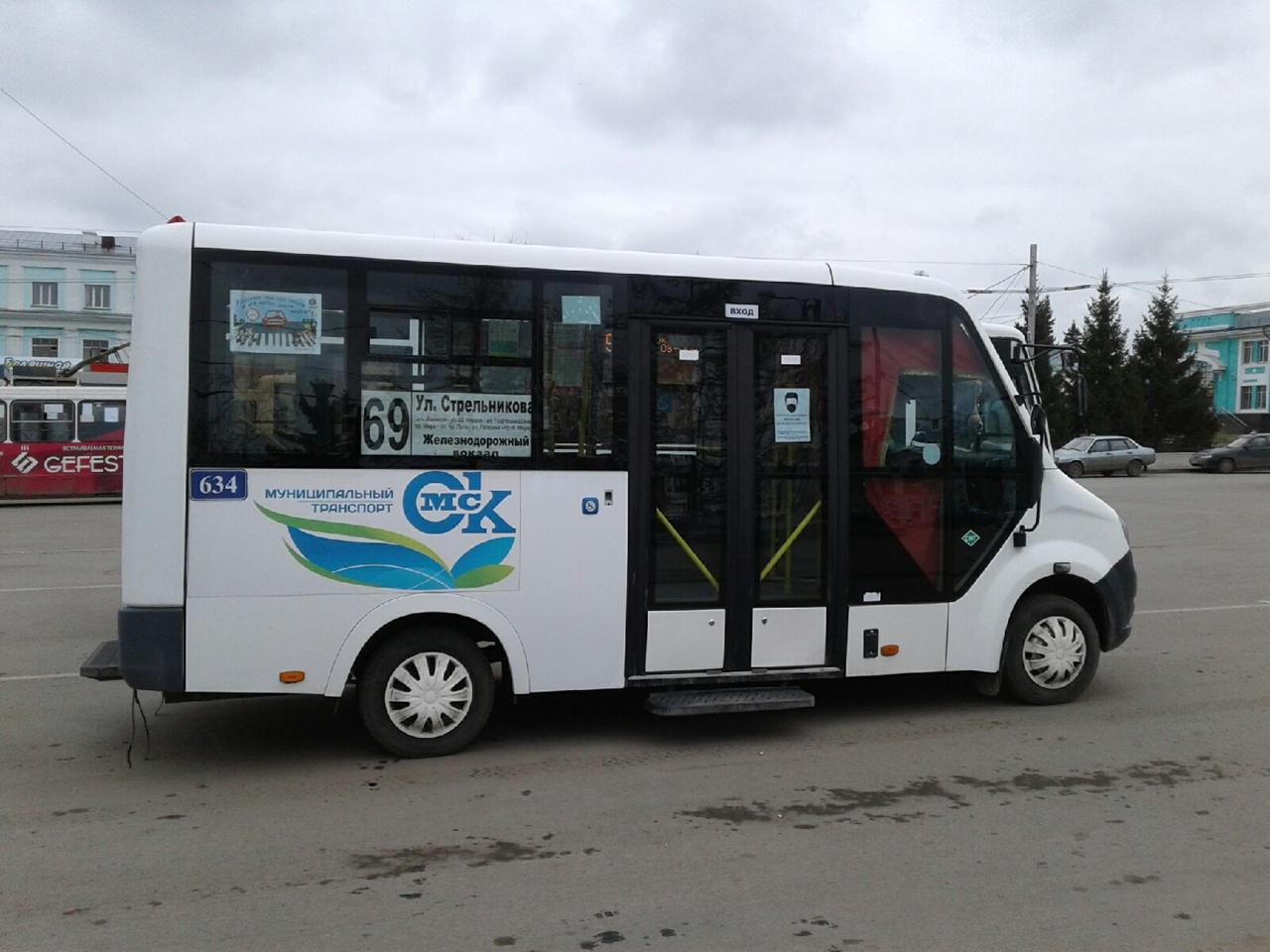 В Омске сегодня изменились два автобусных маршрута #Новости #Общество #Омск