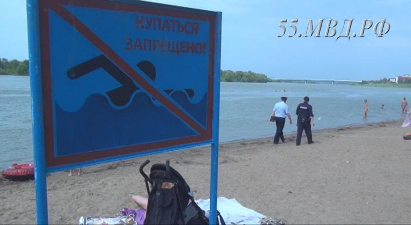 В Омске резко вырос список запрещенных мест для купания #Новости #Общество #Омск