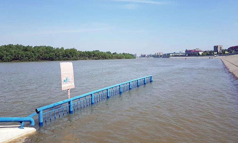 Омичам рассказали об особом режиме очистки иртышской воды в паводок #Омск #Общество #Сегодня