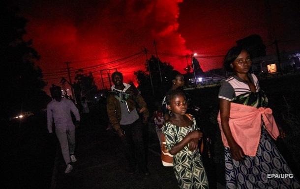 В Конго началось извержение вулкана Ньирагонго