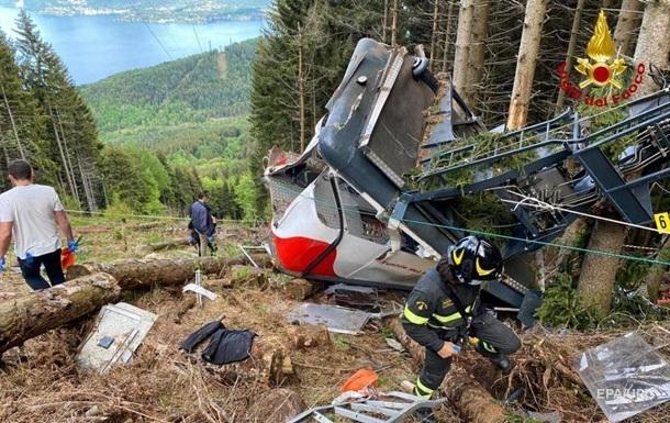 В Италии число жертв аварии на канатной дороге выросло до 14 человек