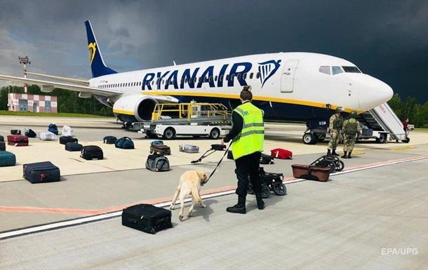 Минск рассказал об угрозах взорвать рейс Ryanair