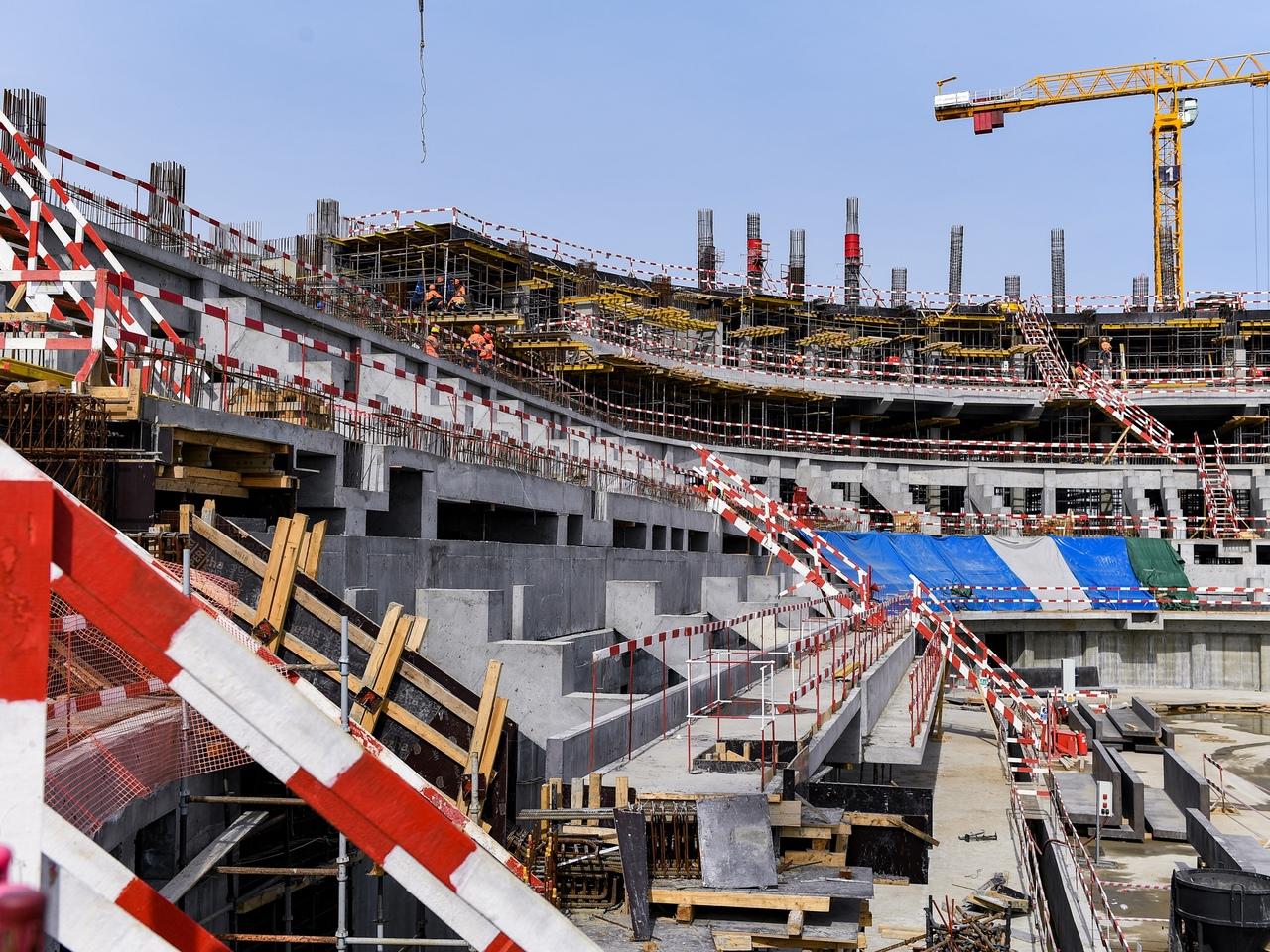На строительство «Арены Омск» скоро поступит 2,6 млрд #Омск #Общество #Сегодня