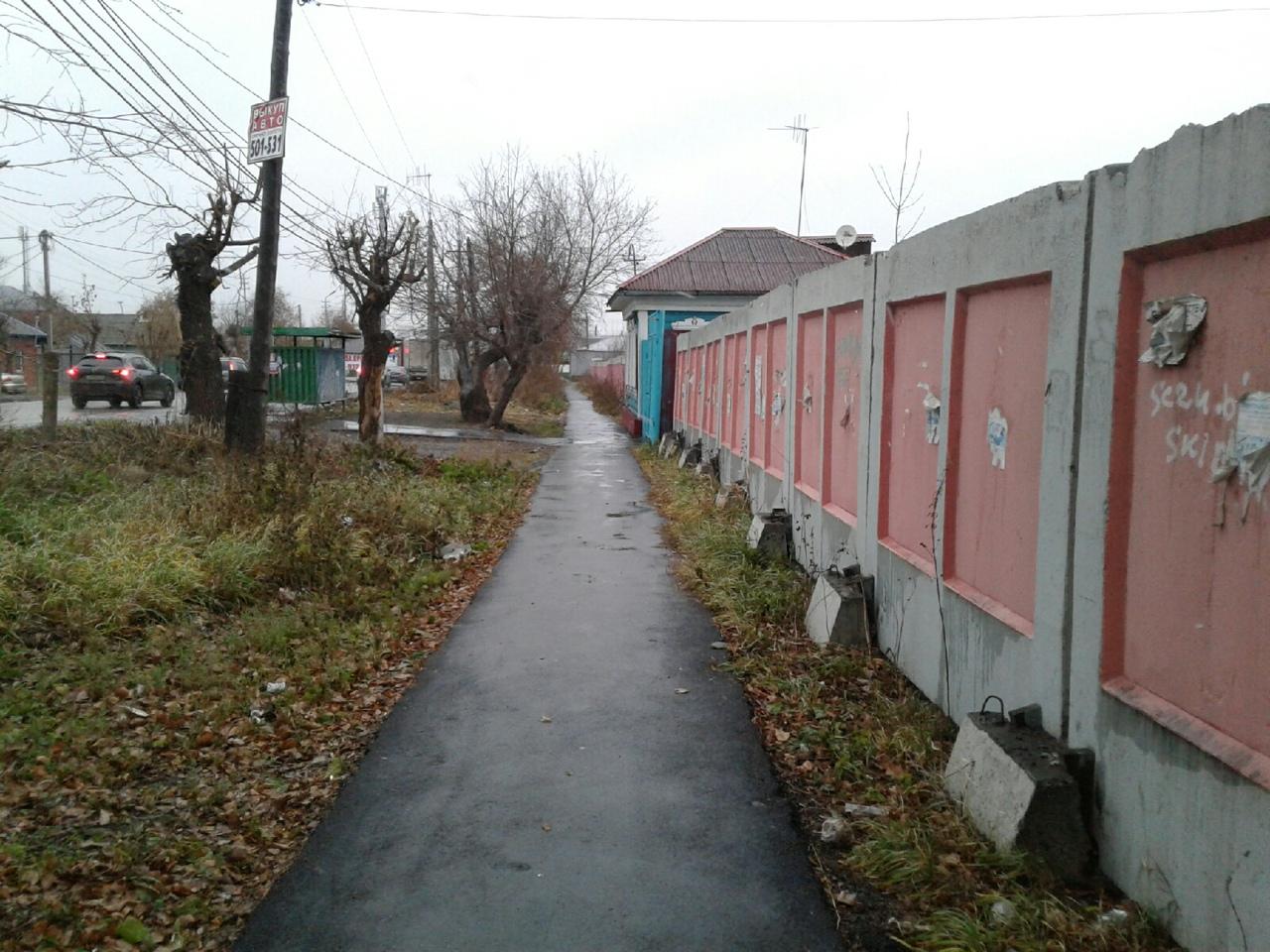 В частном секторе Омска отремонтируют 156 проездов и сделают 249 тротуаров #Новости #Общество #Омск