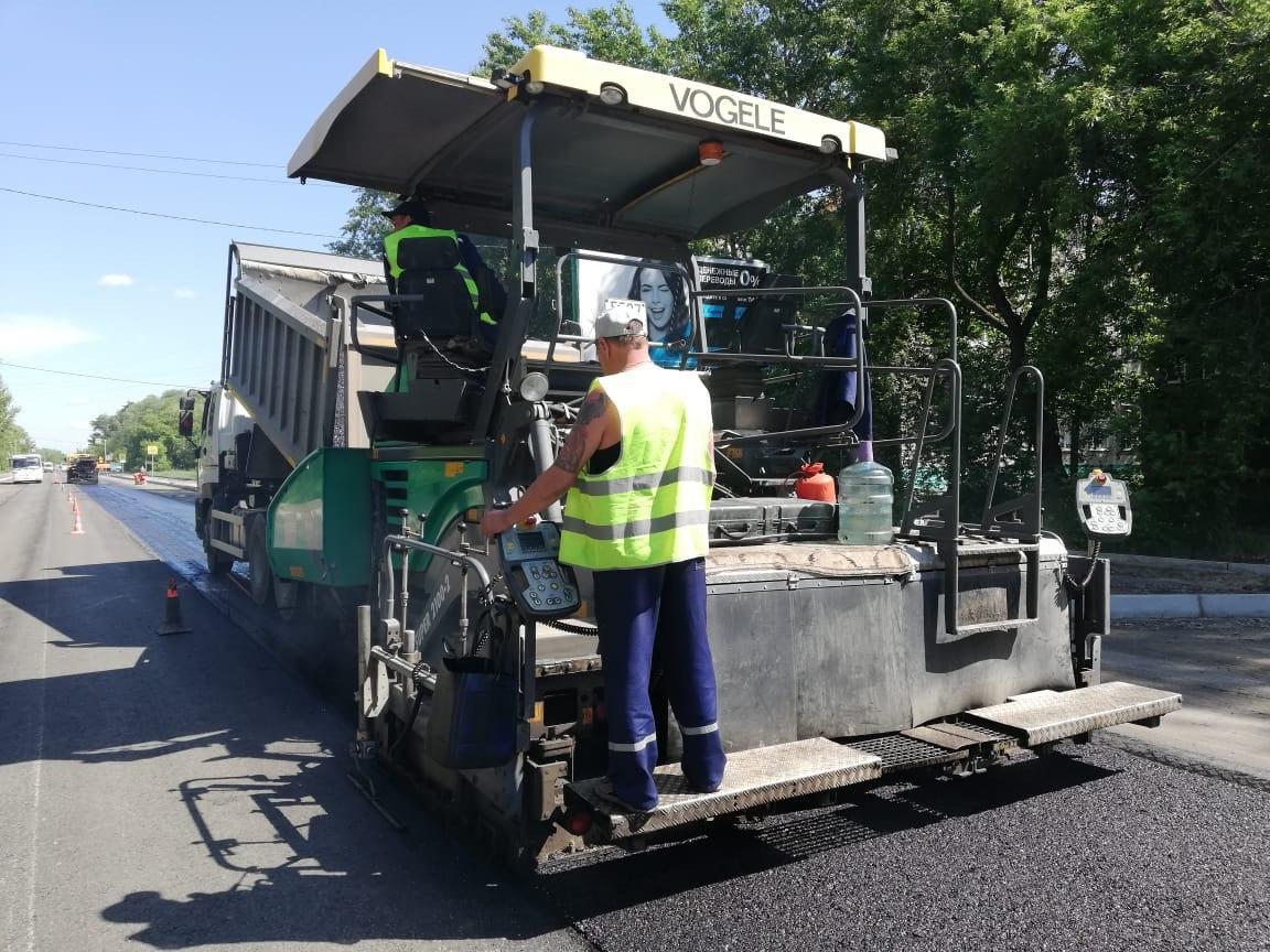 Ремонт дорог в Омске выполнен уже на треть #Омск #Общество #Сегодня
