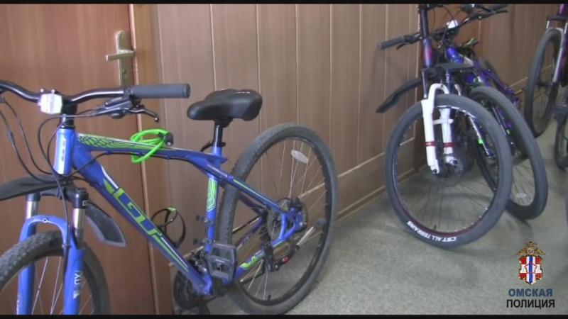 Омич, в сентябре вышедший из тюрьмы, украл 8 дорогих велосипедов #Омск #Общество #Сегодня