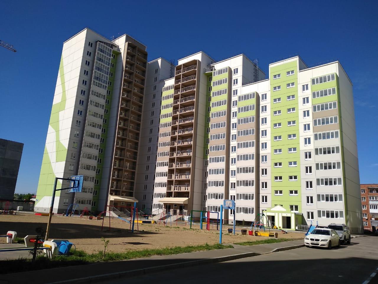 В Омске сдали 17-этажный жилой дом #Омск #Общество #Сегодня