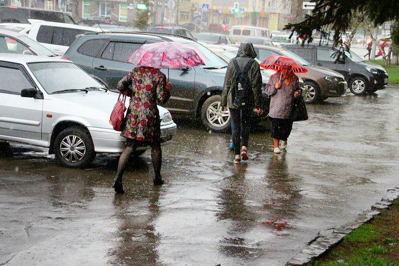 В Омской области ожидают крупный град и похолодание #Новости #Общество #Омск