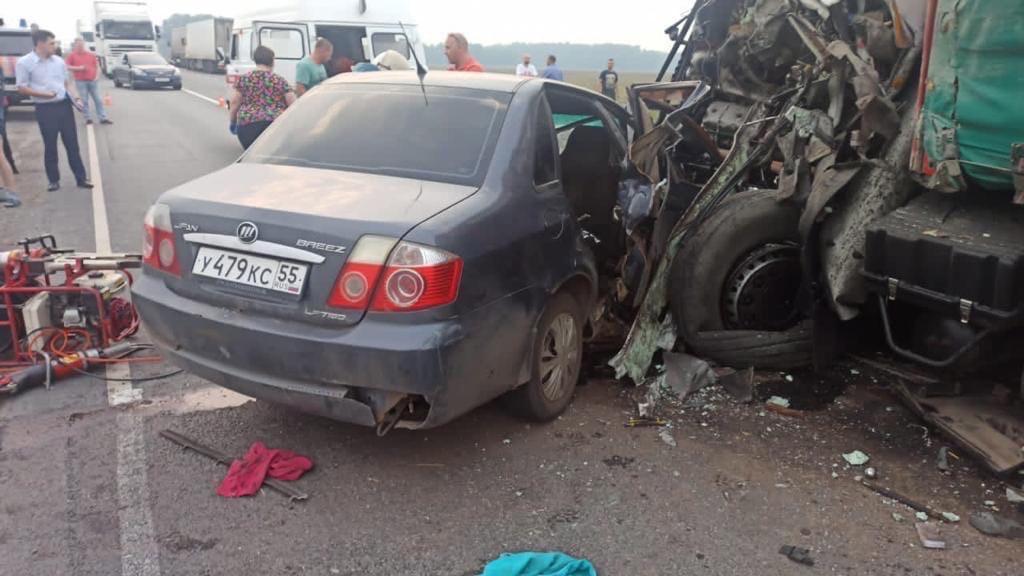 Страшное ДТП на трассе Омск – Тюмень: есть жертвы #Новости #Общество #Омск