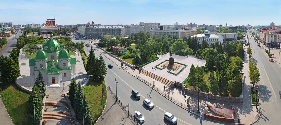 Полежаев не отказался от строительства Ильинского собора #Омск #Общество #Сегодня