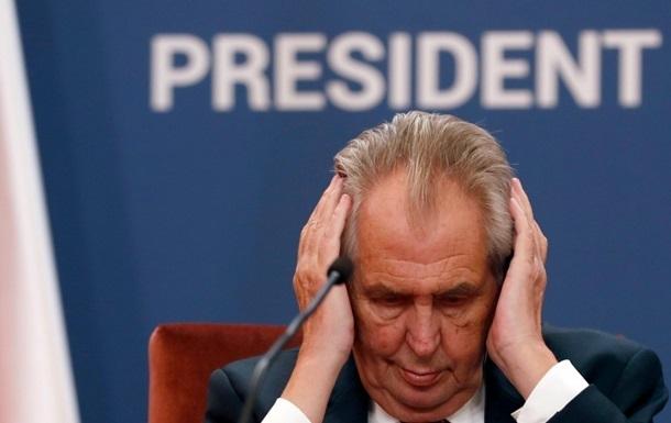 В Сенате Чехии состоится голосование по импичменту президента