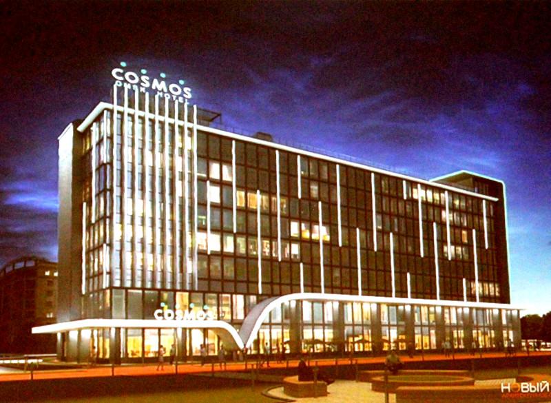 Шишов назвал стоимость гостиницы Cosmos в центре Омска