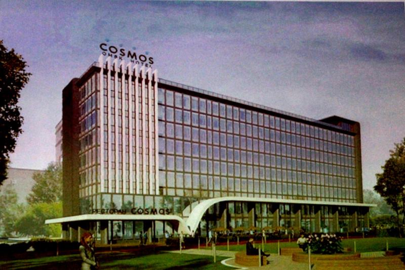 В центре Омска начинают строить гостиницу с баром на крыше и сомнительной архитектурой