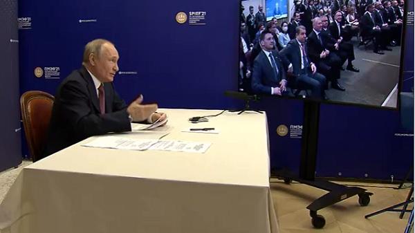 Путин заявил о выходе из кризиса из-за пандемии ковида #Омск #Общество #Сегодня
