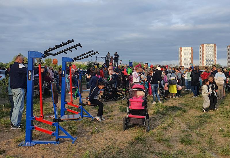 На Левобережье стартовала программа «Спорт в каждый двор – 2021» #Омск #Общество #Сегодня