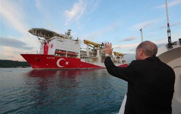 Турция обнаружила новые месторождения природного газа в Черном море