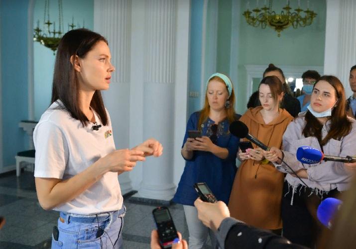 Елизавета БОЯРСКАЯ: «В Омске всегда есть что посмотреть» #Омск #Общество #Сегодня