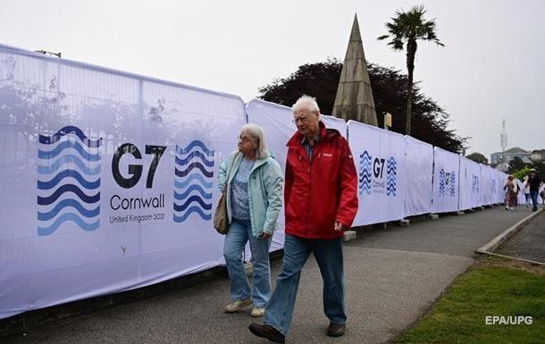В Британии стартует саммит Группы семи