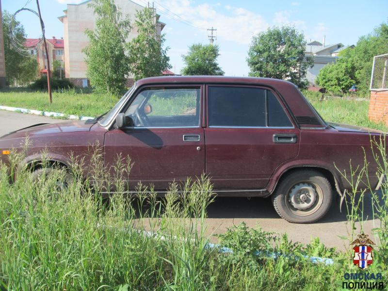 Омич угнал машину, а потом решил вернуть ее на место, но не смог #Новости #Общество #Омск