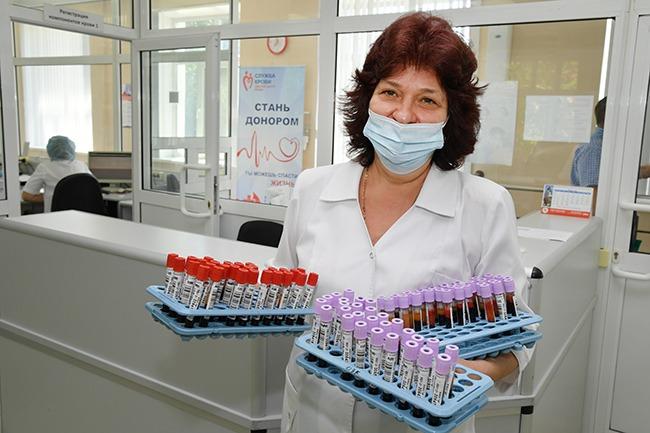 Омичи с начала года сдали более 9 тысяч литров донорской крови #Новости #Общество #Омск