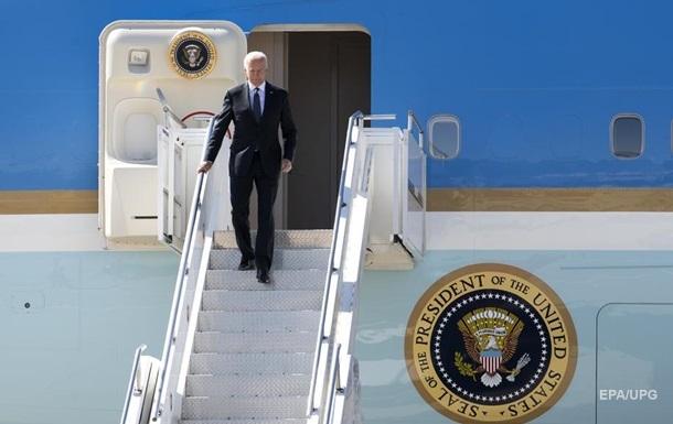 Байден прибыл на саммит в Женеву