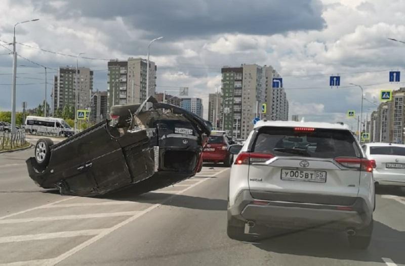 В Омске стало меньше ДТП с погибшими и «перевертышами» #Омск #Общество #Сегодня