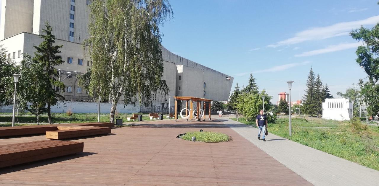 За Музыкальным театром в Омске появятся граффити и новые туалеты #Новости #Общество #Омск