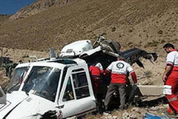 В Иране разбился вертолет с урнами для голосования, погиб губернатор