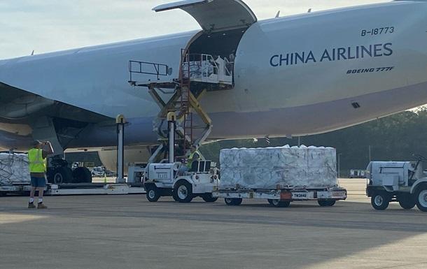 США отправили на Тайвань 2,5 млн доз COVID-вакцины