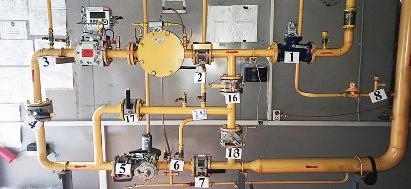 На омских котельных проверят работу узлов измерения расхода газа