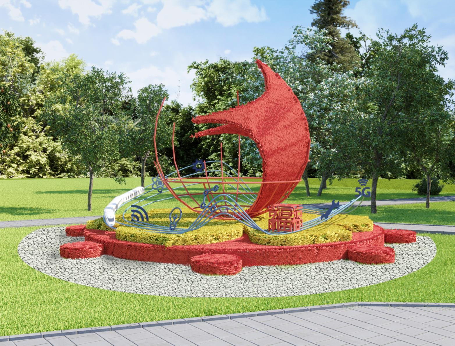 К выставке «Флора» в Омске разместят 17 гигантских композиций #Новости #Общество #Омск