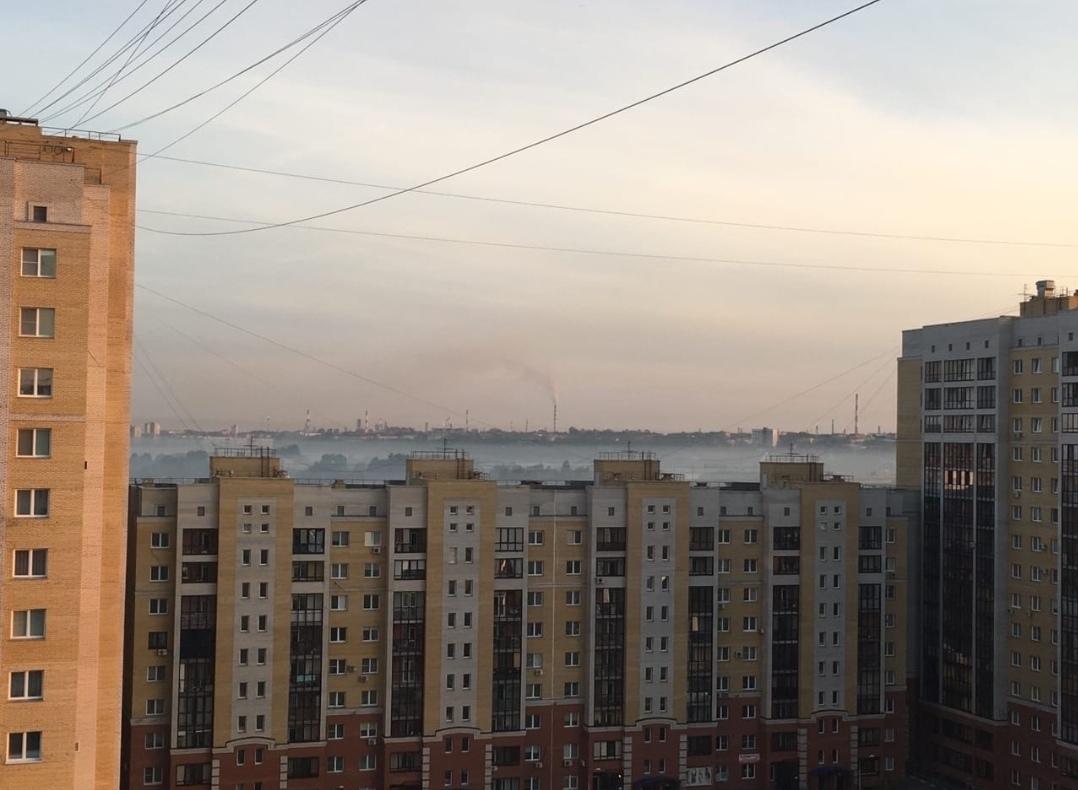 В Омске зафиксированы выбросы ядовитых газов #Омск #Общество #Сегодня