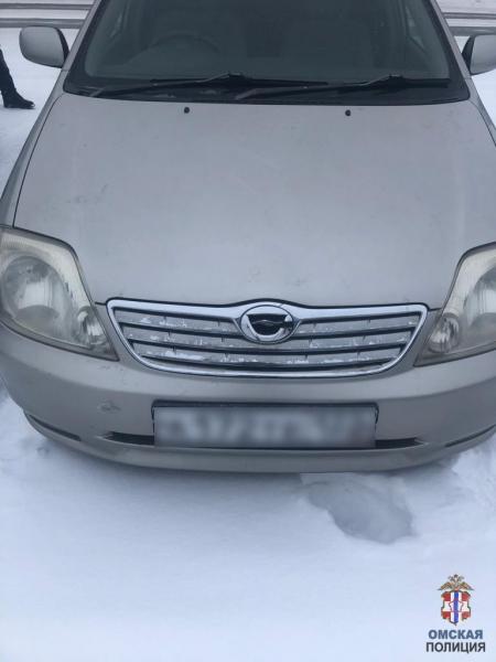 В Омске серийный автовор прятал машины во дворах #Омск #Общество #Сегодня