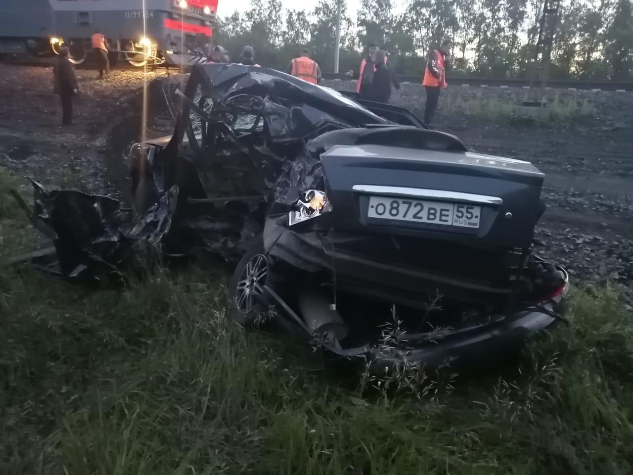 Житель Омской области хотел переехать Транссиб и лишился своей машины #Новости #Общество #Омск