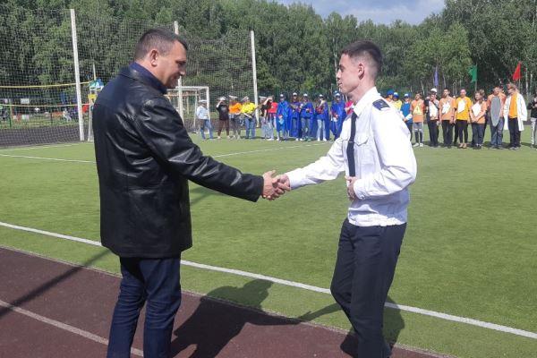Молодым омичам устроили научно-спортивный квест в парке #Новости #Общество #Омск