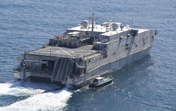 США направили десантный корабль в Черное море