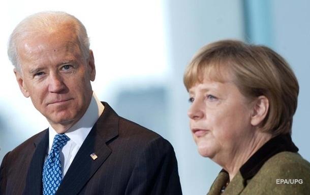 Байден на следующей неделе обсудит с Меркель СП-2