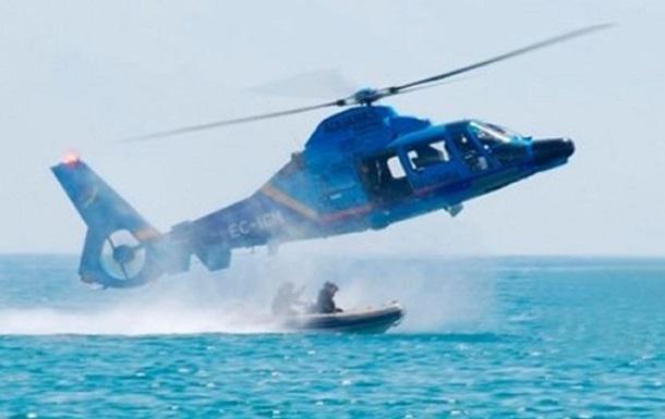 В Испании вертолет таможни упал в море при погоне за наркоторговцами