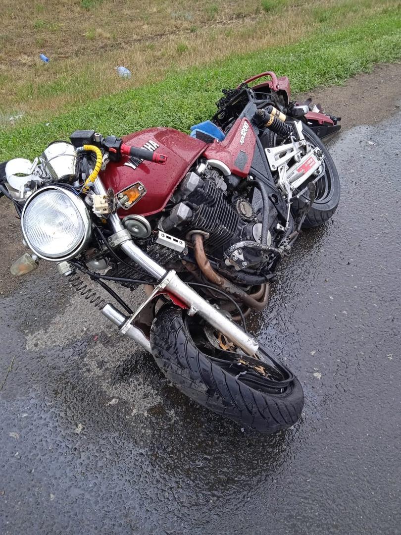 Мотоциклист оказался РІ больнице после аварии РЅР° РѕРјСЃРєРѕР№ трассе #Новости #Общество #Омск