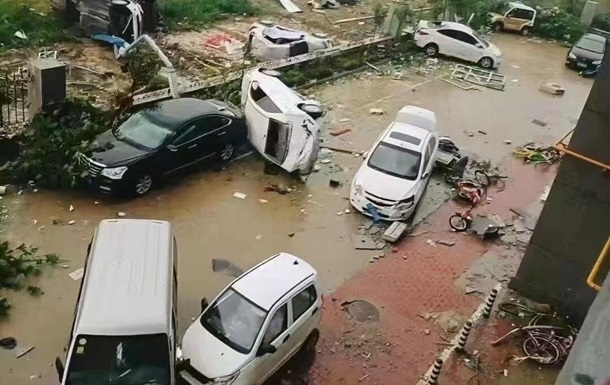 В Китае крупнейшие за десять лет торнадо