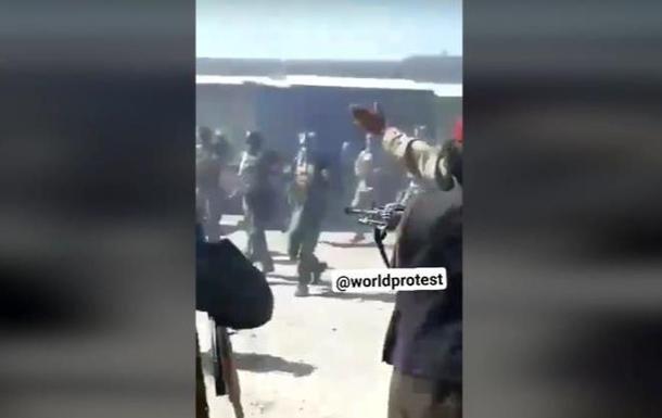 Опубликовано видео расстрела талибами военных. 18+
